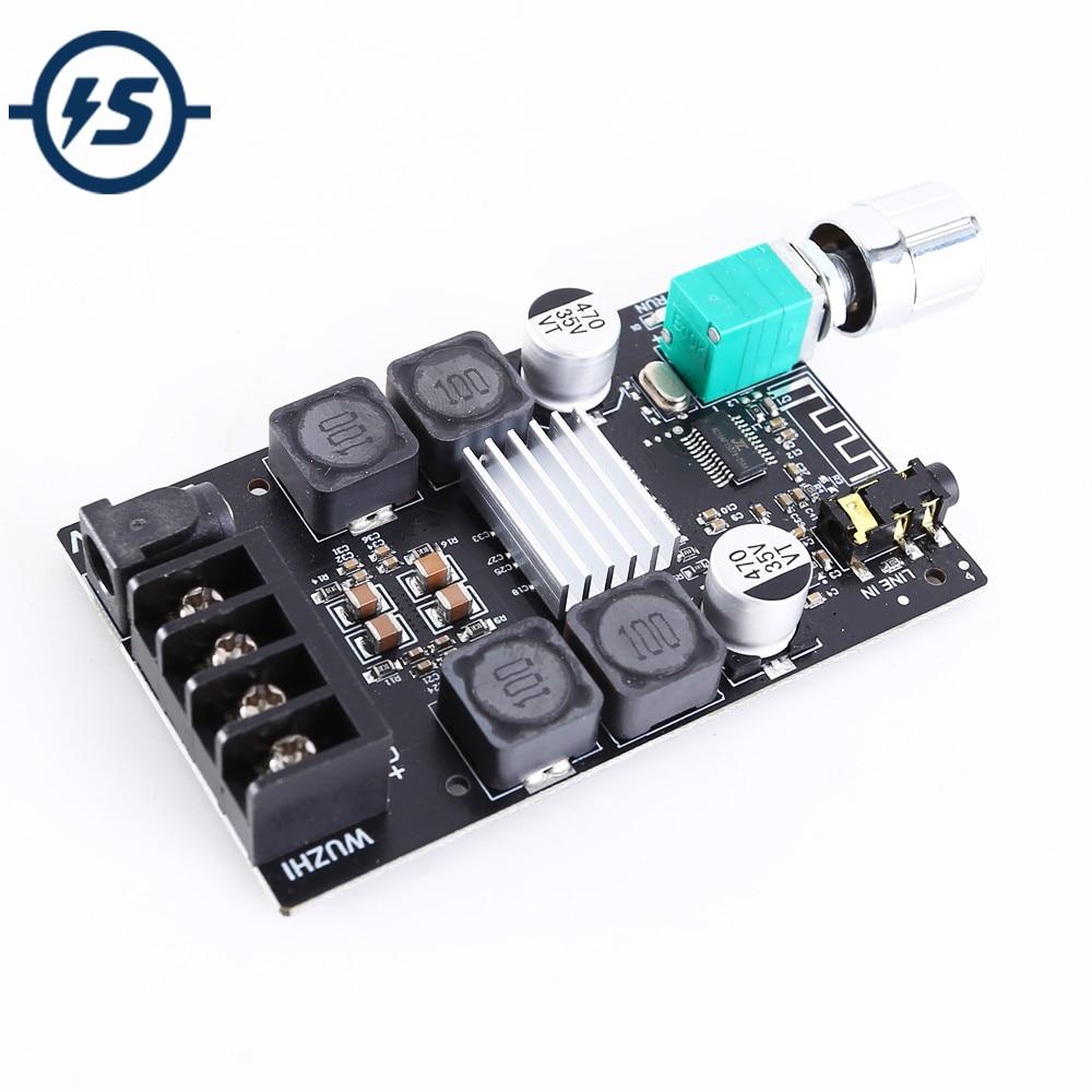Módulo estéreo de Audio Bluetooth HIFI BLE 5,0 TPA3116 módulo amplificador Digital auxiliar amplificador de Audio de altavoz de 50W con filtro
