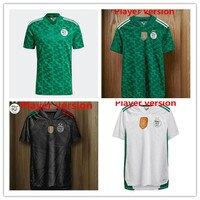 2020 2021 Maillot Algerie White Green Jerseys 20 21 SLIMANT MAHREZ ATAL FEGHOULI BENNACER Algeria Player Version Shirt