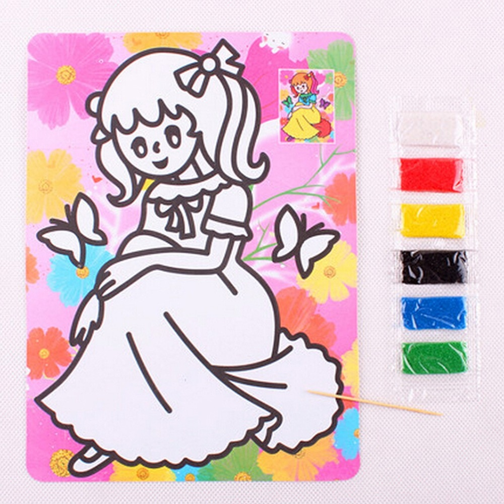 15cm * 20,5 cm arena foto de pintura de juguetes para niños...