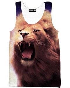 KISSQIQI Men Vest 3D Printed Fashion tops Funny Fitness Tank top Men Creative Trend  Tops Men's Vest Maximum Size 5XL