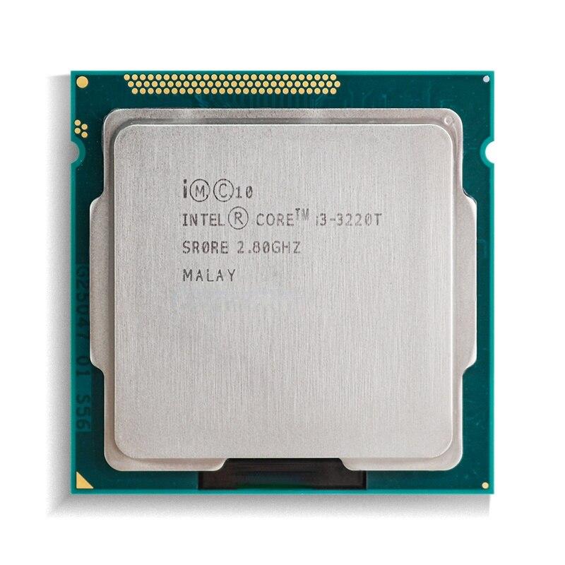 إنتل كور i3-3220T i3 3220T 2.8 GHz ثنائي النواة رباعية موضوع معالج وحدة المعالجة المركزية 3M 35W LGA 1155
