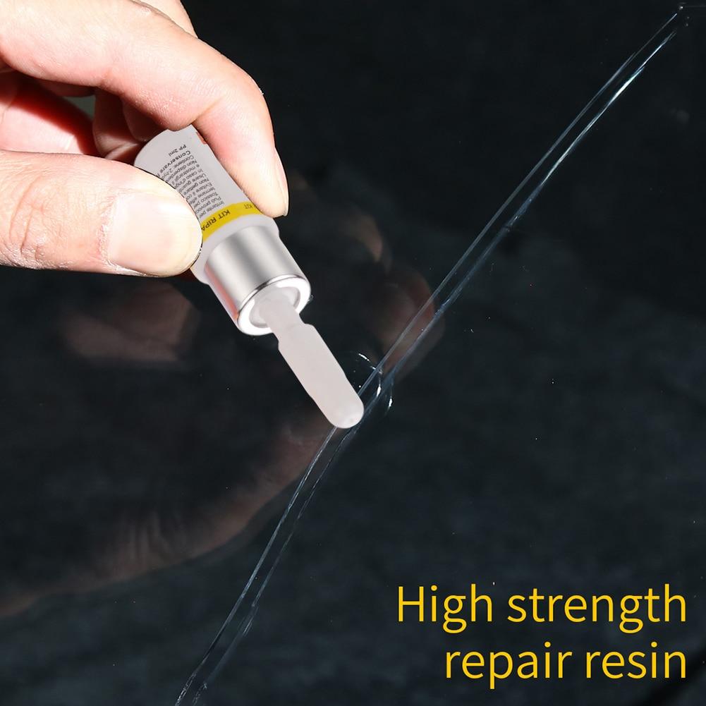 Инструмент для ремонта ветрового стекла автомобиля, набор для удаления царапин и трещин на стекле своими руками, 3 мл, аксессуары для Ремонт...