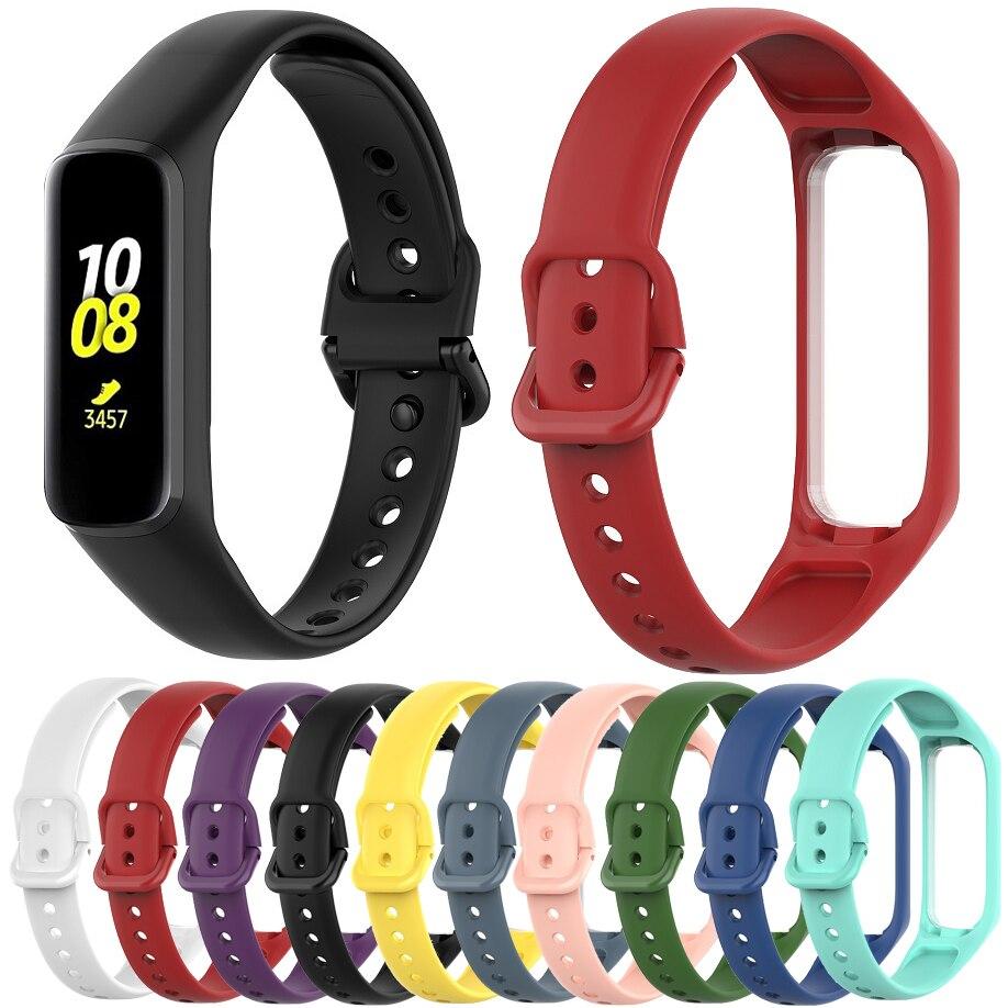 Мягкие силиконовые браслеты Essidi для Samsung Galaxy Watch Fit e R375, смарт-браслет, ремешок на запястье для Samsung Galaxy Fit e Correa