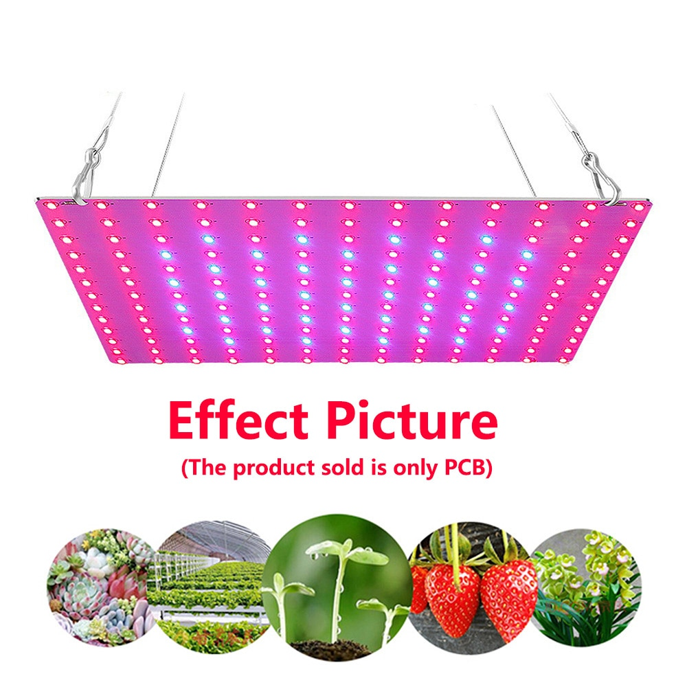 10Pcs/Pack Samsung LM281B 3000K 5000K Red 660nm Infrared 730nm 120W LED Grow Lamp Quantum PCB Board Panel for Horticulture Light enlarge