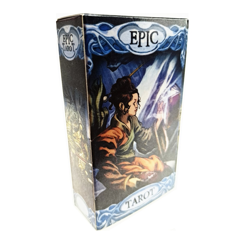2021 Hot Sell Epic Tarot Cards 78Cards Tarot Cards For Divination Personal Use Full English Version Tarot 2021 hot sell dreaming way tarot cards 78cards tarot cards for divination personal use full english version tarot