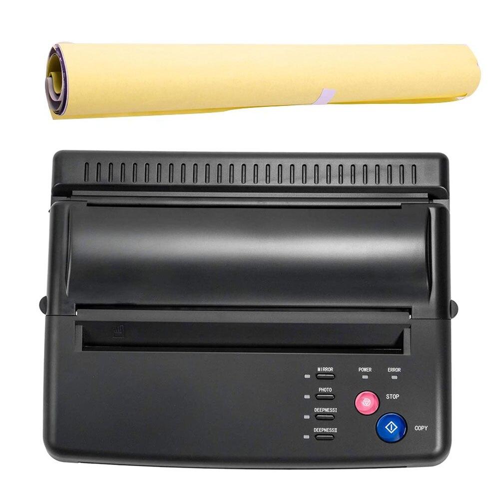 الوشم نقل آلة الإستنسل جهاز ناسخة طابعة الرسم أدوات الحرارية ل الوشم أطقم صور نقل ورقة نسخة الطباعة