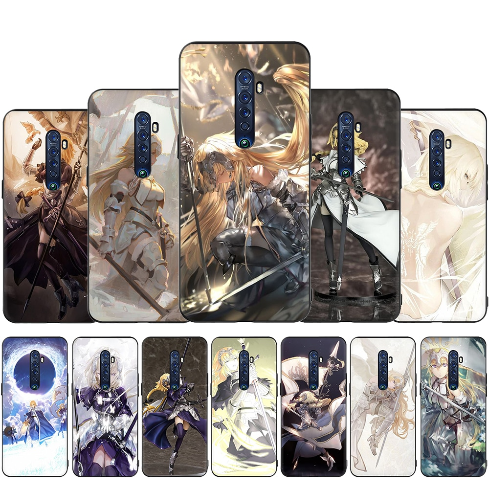 Jeanne D'Arc Fate Apocrypha Anime phone case for OPPO Reno 2 Z 10X Ace 2Z 2F 3 Pro Realme 2 A5 3 5 Pro Q X2 XT X50 X Lite