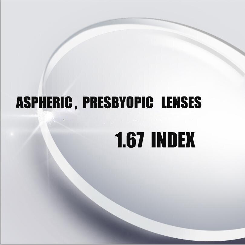 chashma anti reflective 1 67 index lens thin recipe optical prescription lenses for eyes super quality clear lens for recipe 1.67 index Prescription CR-39 Resin Aspheric Glasses Lenses ,Anti-Glare , UV400 Protection Hyperopia Optical Lens L025