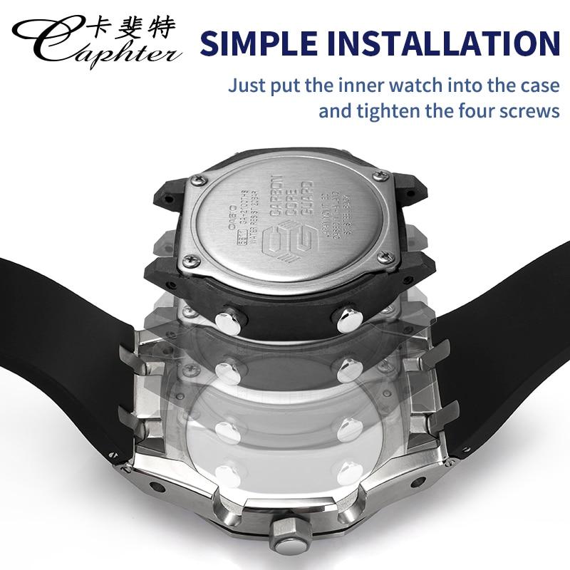 4th Generation Metal Watch Case For ga2100 Watch Strap ga 2100 Watchband ga-2100 Watch Bracelet Wristwatch Bezel Band MOD ACC enlarge