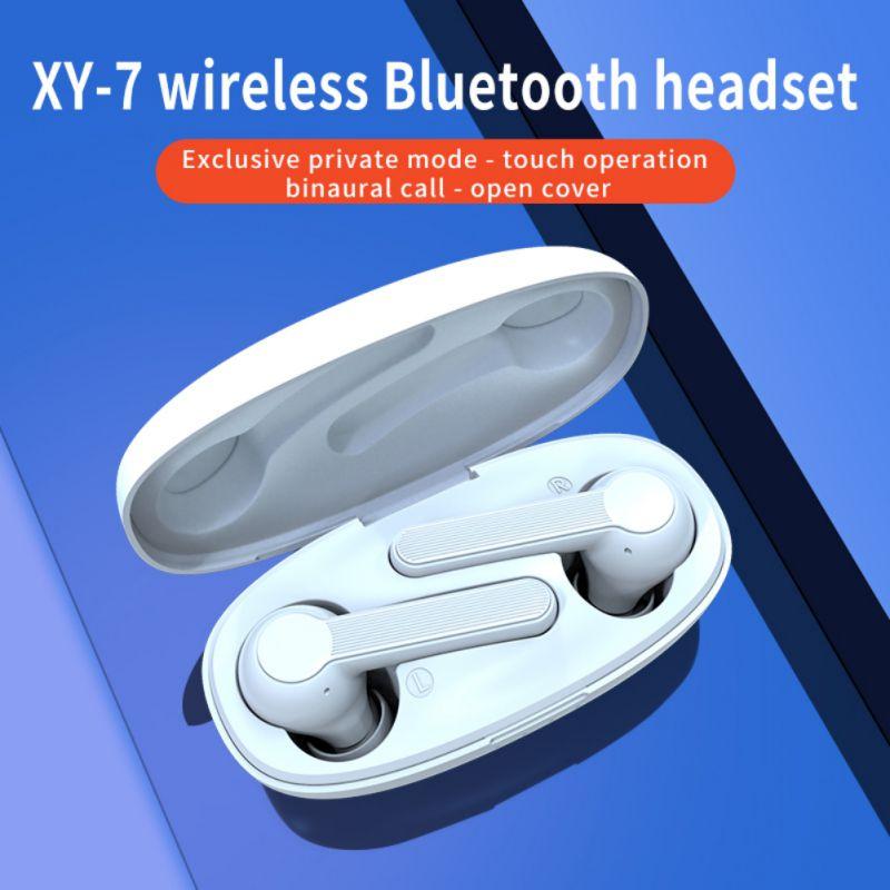 Portátil TWS Bluetooth 5,0 auriculares larga vida de batería auriculares ergonómico auriculares con caja de carga