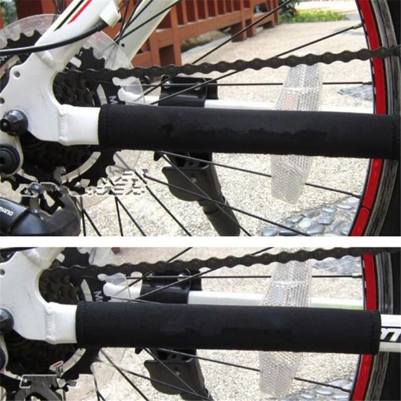 2pcs Bicycle Chain Protector Cycling Frame Chain Protector MTB Bike Chain Guard Bicycle Chain guard bicycles accessories