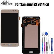 Pinzheng Aaaa Kwaliteit Lcd Voor Samsung Galaxy J3 2017 J330 J330FN SM-J330FN Lcd-scherm Met Touch Screen Digitizer Vergadering