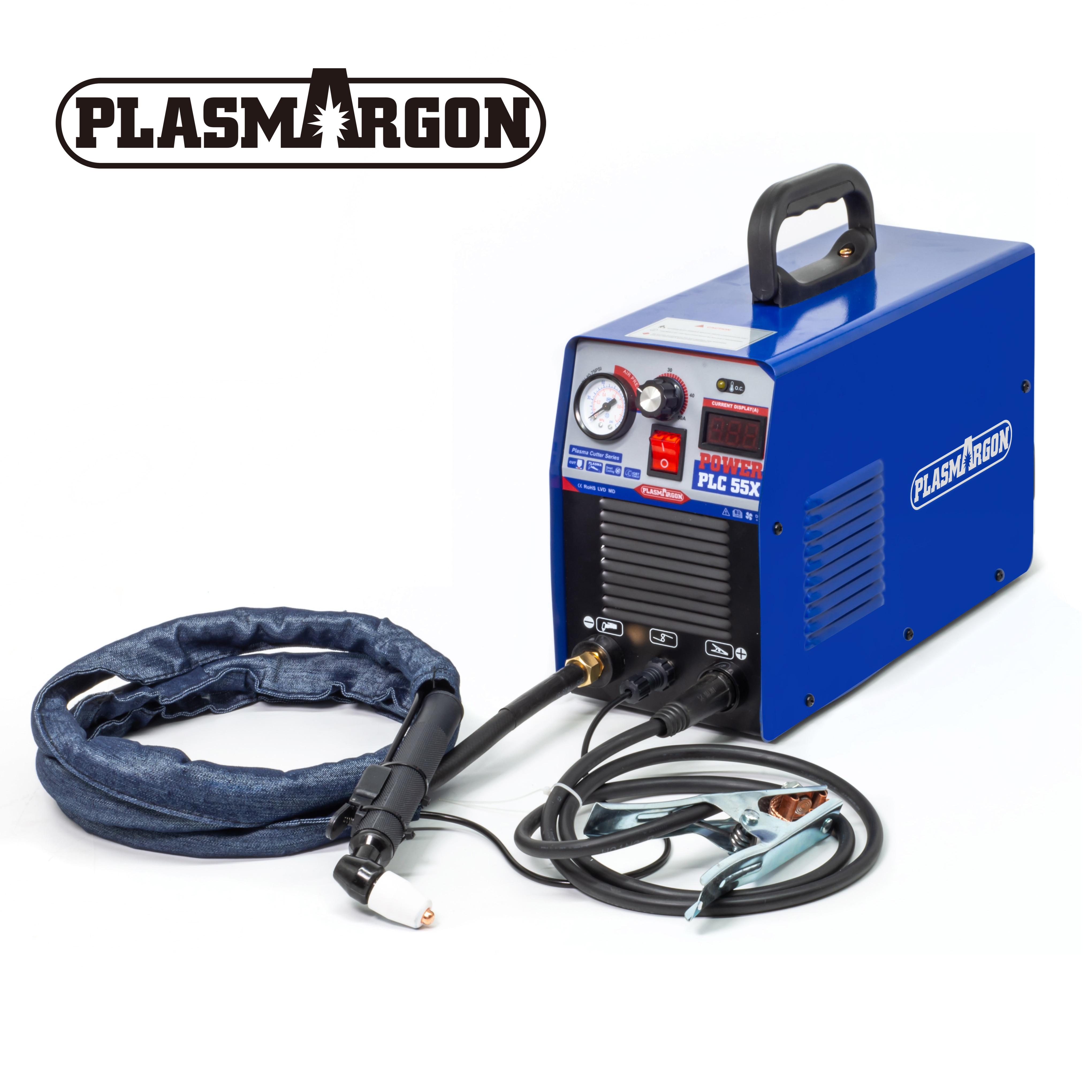 IGBT Plasma Cutting Machine 220V DC 50Amp Inverter Air Plasma Cutter Cut Thickness 12mm Clean Cut