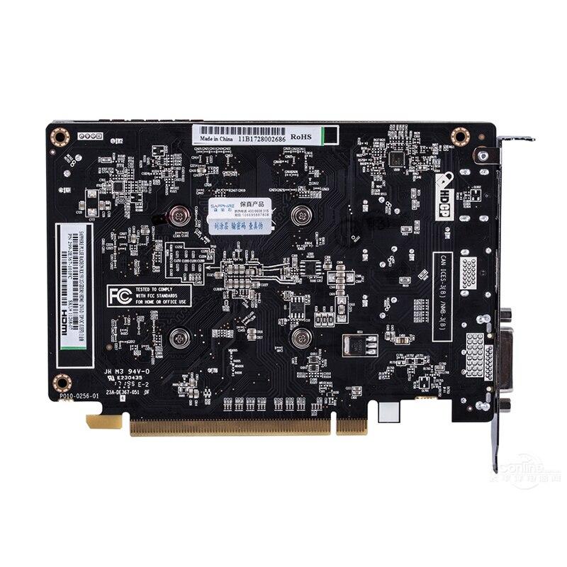 Sapphire Rx550 4gb Video Card Gddr5 Graphics Cards For Amd Rx 500 Series Rx 550 4g D5 Radeon Rx550 4gb Displayport Hdmi Dvi Used Graphics Cards Aliexpress