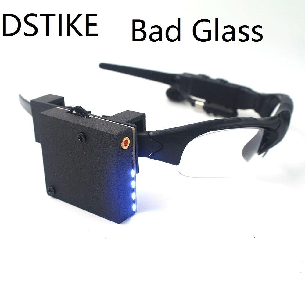 DSTIKE vaso mal USB + Bluetooth de vidrio