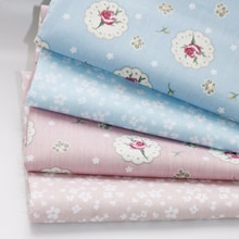 16pcs 25*38cm Pure Cotton Fabrics Patchwork Cotton DIY Sewing Quilting Cloth for Dress Bed Sheets Pa