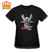 2020 Anime Mazinger Z 03 femmes t-shirts personnalisé coton manches courtes t-shirt mode femmes vêtements bratz haut t-shirt