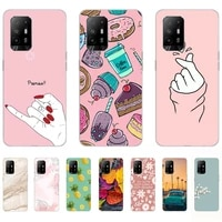 soft case for oppo a94 5g silicon fashion flamingo transparent shell back cases 6 43inch shockproof bumper dust proof anti knock
