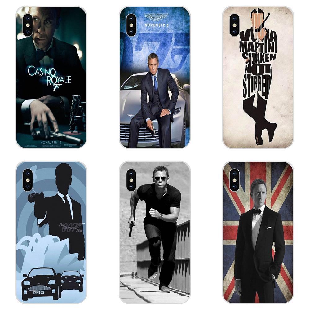 Casino Royale 007 James Bond Soft Shell For Galaxy Alpha Note 10 Pro A10 A20 A20E A30 A40 A50 A60 A70 A80 A90 M10 M20 M30 M40