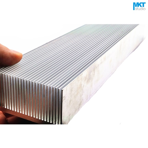 1Pcs 400x69x36mm Comb Type Aluminum Alloy Cooling Fin Radiator Heat Sink For TO-3P, MOS, IC, Amplifier, Power