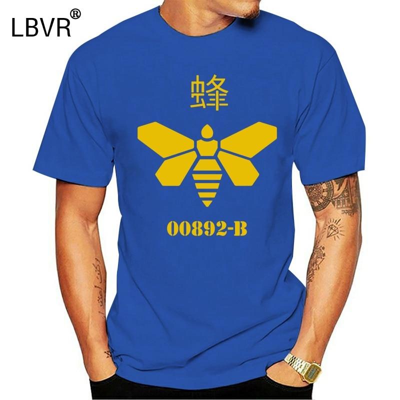 Camiseta de manga corta para hombre, Original, barril de abeja Hazmat Vamanos Pest avis adulto