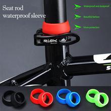 Vélo siège tige anneau anti-poussière Silicone étanche vélo tige de selle étui de protection vélo accessoires Bicicleta zadelpen nouveau