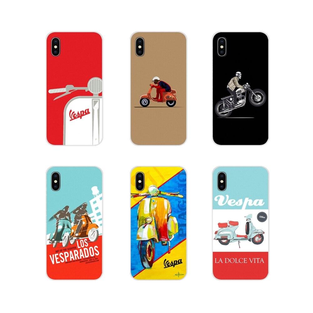 Vespa Roller Zubehör Telefon Shell Cover Für Huawei G7 G8 P8 P9 P10 P20 P30 Lite Mini Pro P Smart plus 2017 2018 2019