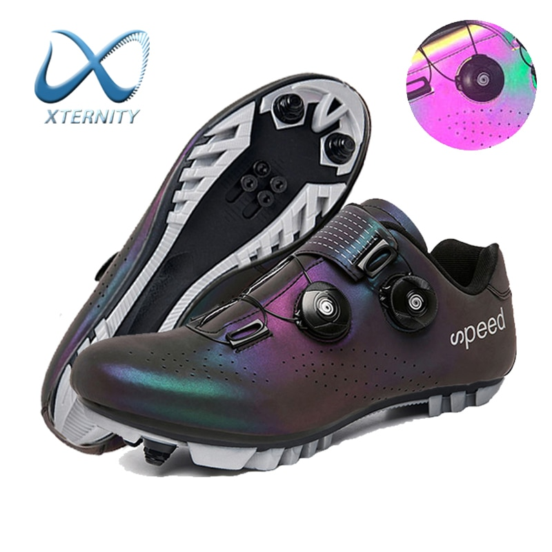 2021 Men Cycling Shoes Professional Self-locking Mountain Bicycle Sneakers Breathable MTB Bike Shoes Sports Road Cleats Sneakers