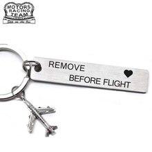 CLELO Gepäck Tag gravierte Rmove vor Flug Metall bagage tags für Flight Crew Pilot Luftfahrt Liebhaber Reise Zubehör