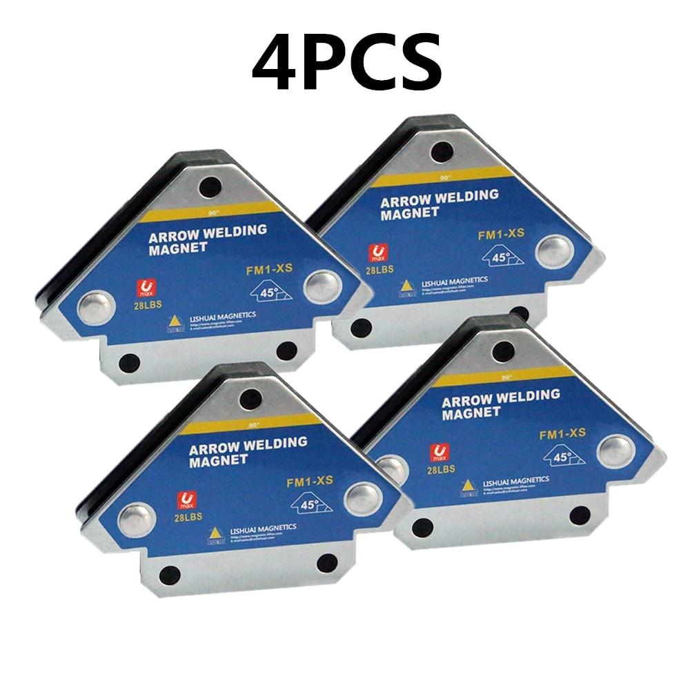 4PCS/Set Magnetic Welding Holders Angle Soldering Arrow Positioner Fixture Ferrite Auxiliary Locator Tools