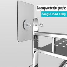 12/10/8/6mm Screw length Nail-Free Wall Nail Hook / Household Pendant Key Wall Free Punching Strong Non-Marking Hook Hanger Hook