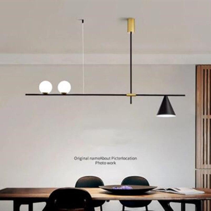 مصباح سقف Led معلق مع ضوء معلق ، ثريا صغيرة على شكل حبة الفول ، موسيقى ، للدور العلوي ، المطعم ، المقهى ، غرفة الطعام ، المطعم