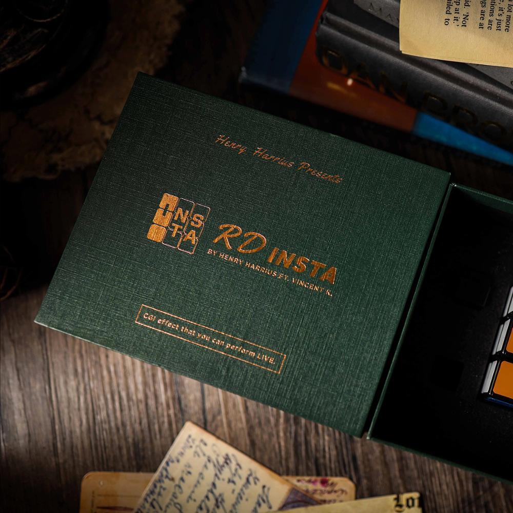 RD Insta de Henry Harrius (trucos e instrucciones en línea), Cubo de ilusión de magia callejera mentalismo, accesorios de trucos de magia, trucos