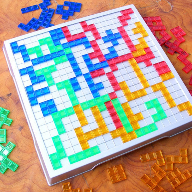 2021 стратегия игры Blokus настольная игра развивающая ToysSquares игра легко играть для детей серии игр в помещении вечерние Детские кубики, подарки ...
