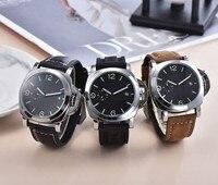 Men\'s Watch Luxury LUMINOR 1950 TOP brand GMT PAM00359 Quartz Wristwatch Sport  Clock Relogio Masculino 44mm  dial diameter AAAI