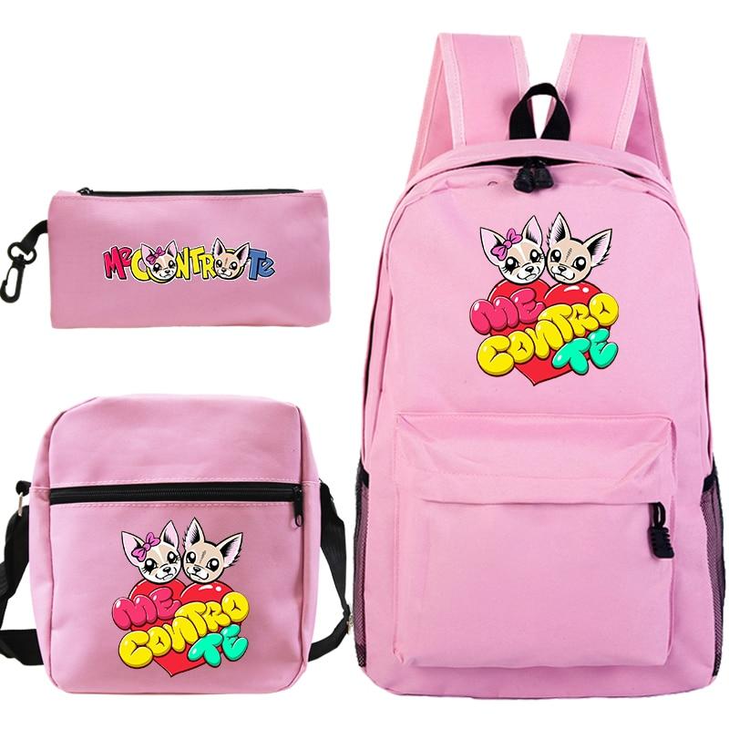 Школьная сумка Me contro Te Monster, школьный рюкзак Ash Ketchum/mochila, сумка для маленьких мальчиков и девочек, детская школьная сумка, сумка-карандаш