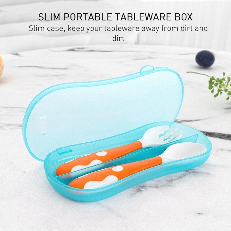 Высококачественная кухонная посуда для студентов, столовая посуда, сумка, набор посуды, переносная коробка с откидной крышкой, чехол для столовых приборов