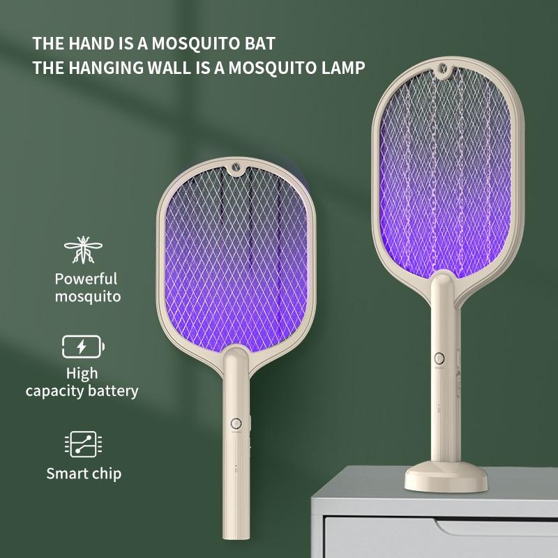 USB قابلة للشحن صاعق بعوض LED ذكي البعوض القاتل صدمة كهربائية نوع ضوء الليل للمنزل غرفة نوم مكافحة البعوض