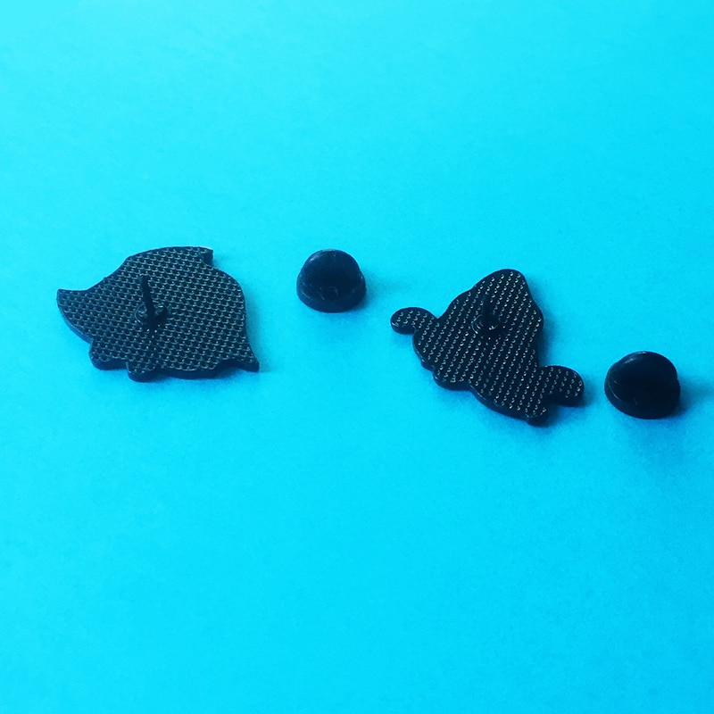 Shark and skull metal pins gothic skeleton ocean wave open mouth shark enamel animal badge shirt lapel pin jewelry friend gift  - buy with discount