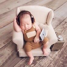 Accessoire de photographie pour bébé Mini ordinateur portable, pour nouveau-né, ordinateur, accessoires de prise de vue, Studio