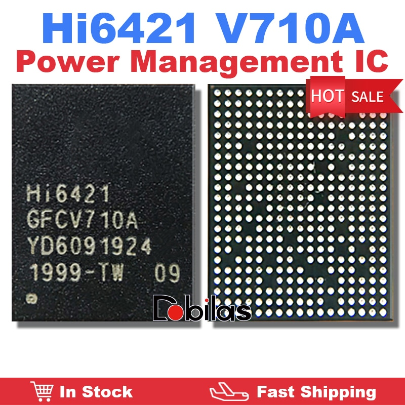 1Pcs HI6421 GFCV710A V710A Power IC Power Management Supply Chip Mobile Phone Integrated Circuits Re