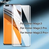 3d curved edge tempered glass for honor magic3 pro plus screen protector for honor magic3 pro glass for honor magic3 magic3pro