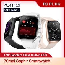 Смарт часы 70mai Club, Bluetooth, GPS, пульсометр, водостойкость до 5 атм
