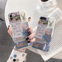 Meachy Bugs Bunny Nette Fall Abdeckung Für Huawei P20 P30 P10 Pro Lite Honor 10 Lite 9 8X 9X 20 v20 V10 20i 9i Mate 20 Pro Nova 5