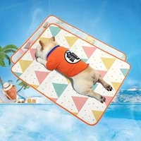 newly summer washable cooling for dogs cats kennel mat pet ice silks cooling breathable mesh mat pet self cooling mat dog beds