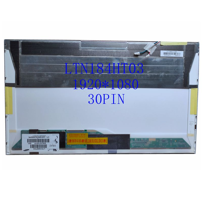 "LTN184HT03 LTN184HT04 LTN184HT01 18.4 ""tela do laptop lcd 1920*1080 Tela CCFL 2 30Pin"