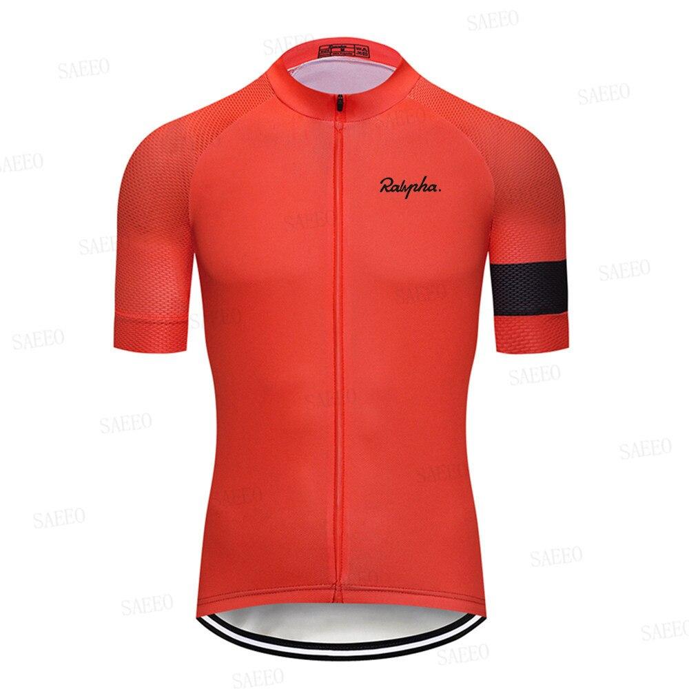 Camiseta de ciclismo profesional, ligera, sudadera para bicicleta, alta calidad, Ralvpha, maillot,...