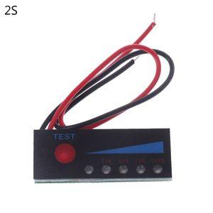 3.7V 2S-4S 18650 Lithium 12V Lead Acid Battery Capacity Indicator Power Tester X4YD