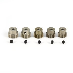Surpass-hobby 48DP 5Pcs 3.175mm 16T 17T 18T 19T 20T Metal Pinion Motor Gear Combo Set for 1/10 RC Car Brushed Brushless Motor