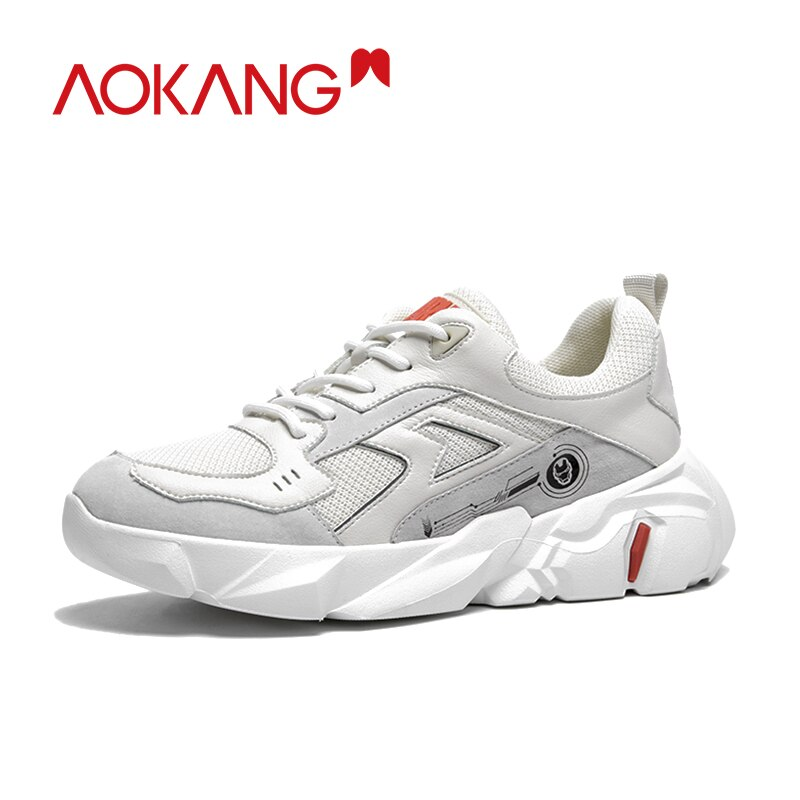AOKANG-حذاء نسائي سميك ، حذاء منصة ، مريح ، غير رسمي ، عصري
